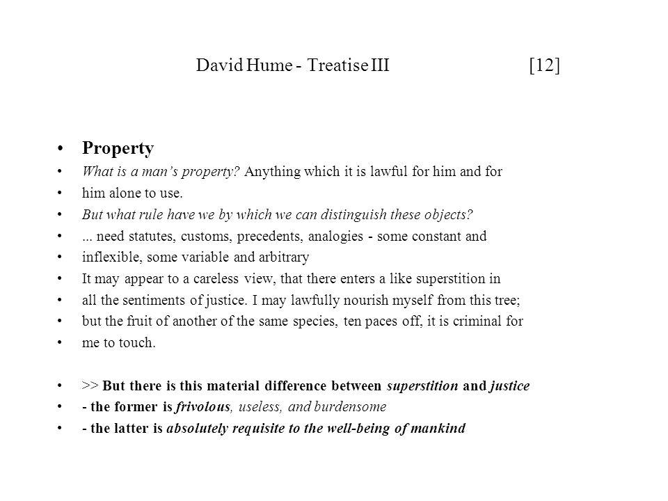 David Hume - Treatise III [12]